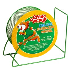 LIVING WORLD Roue Mailles fines M pour hamster