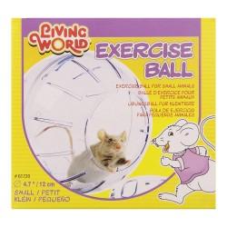 LIVING WORLD Balle d'exercice small pour souris ou hamster nain