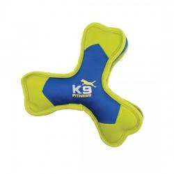 ZEUS Jouet K9 Os tripale nylon sonore pour chien
