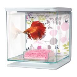 Aquarium MARINA Betta Kit 2L Floral