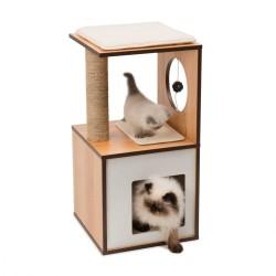 Arbre à chat CATIT Vesper Box S naturel