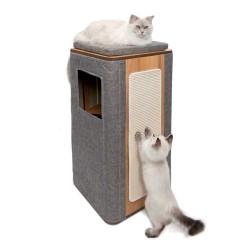Arbre à chat CATIT Vesper Cubo Tower Stone