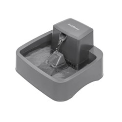 PETSAFE Drinkwell Fontaine grise 1,8 L