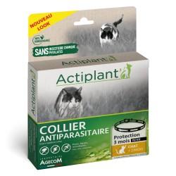 ACTIPLANT Collier antiparasitaire noir Chat