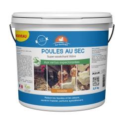 LE FERMIER Poules au sec 2,5 kg
