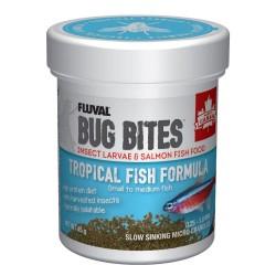 FLUVAL Bug Bites Poissons tropicaux granulés S/M 45g