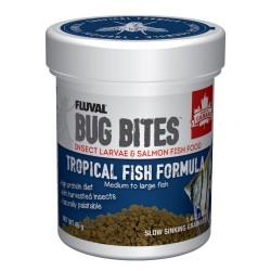 FLUVAL Bug Bites Poissons tropicaux granulés M/L 45g
