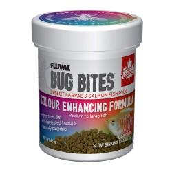FLUVAL Bug Bites Réhausse des couleurs granulés M/L 45g
