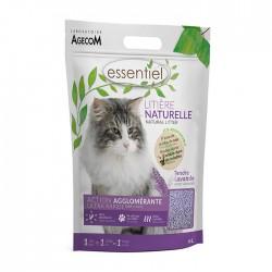 ESSENTIEL Litière naturelle Lavande 6L pour chat