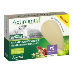 ACTIPLANT Shampooing solide Protection parasites pour chien et chat