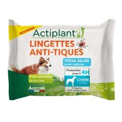 ACTIPLANT Lingettes anti-tiques