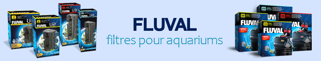 Filtres FLUVAL pour aquarium